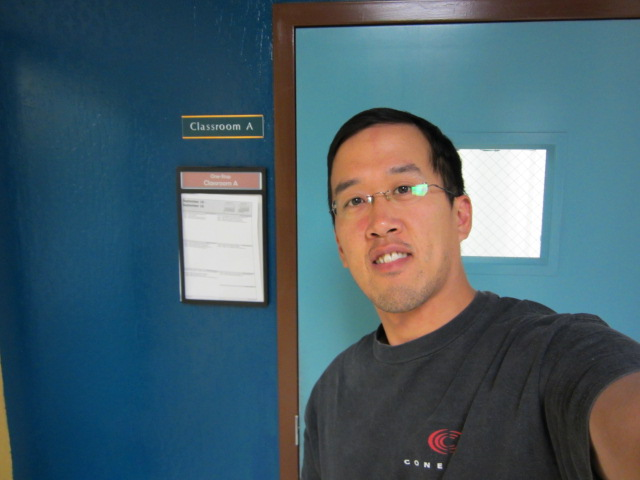 Attorney Andy I. Chen at a homeless shelter in San Jose, California