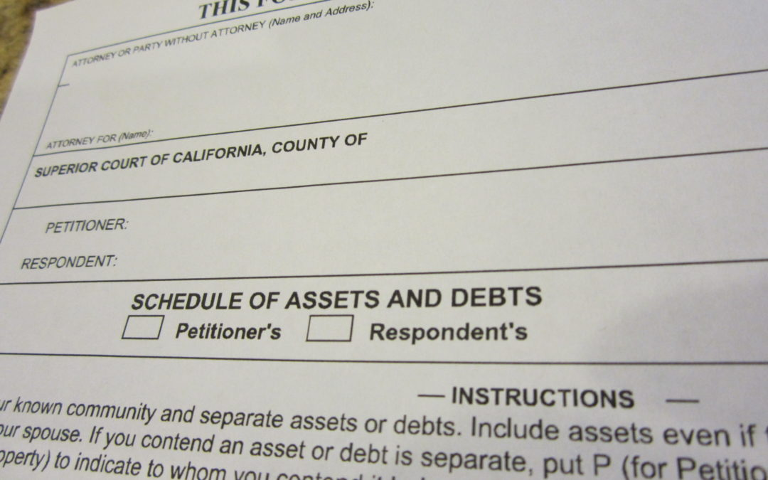 California Divorce: Undisclosed Assets