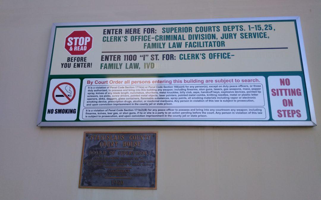 California Firearms in Public Buildings